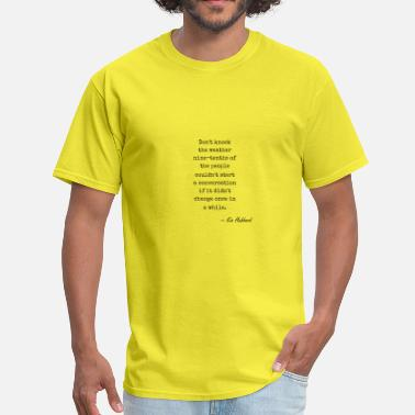 Brooklyn-nine-nine nature Kin Hubbard 745ce8f8470294de8614792a9403ddf - Men's T-Shirt