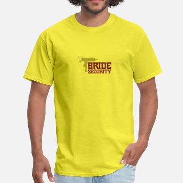 Secure Team Security Team Of The Bride - Men's T-Shirt