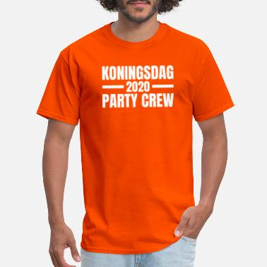 Dutch Koningsdag 2020 Party Crew Amsterdam Kingsday - Men's T-Shirt