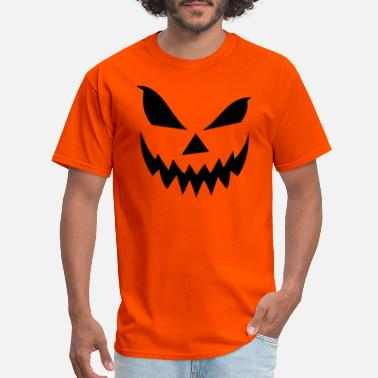 Angry Scary Jack O' Lantern - Men's T-Shirt