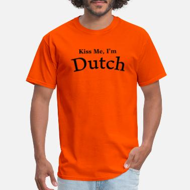 Holland Kiss Me I'm Dutch - Men's T-Shirt