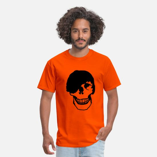 Emo T-Shirts - Emo - Skull - Men's T-Shirt orange