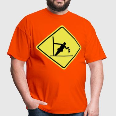 Road Sign Strip Club - Men's T-Shirt