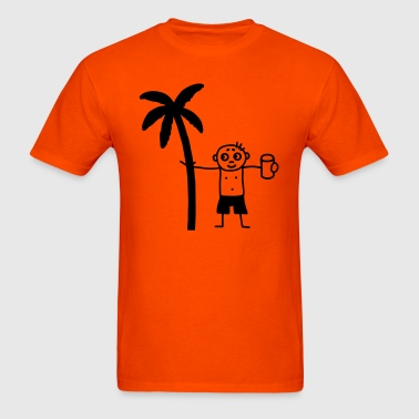 Party under the palms - Men's T-Shirt