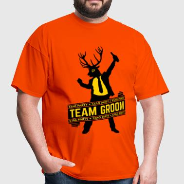 Team Groom / Stag Party (2C) - Men's T-Shirt