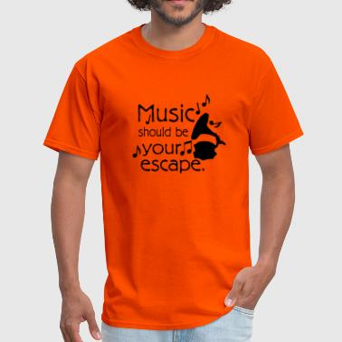 Music quotes - Men's T-Shirt