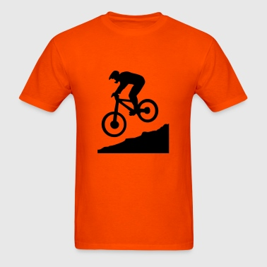Downhill biking - Men's T-Shirt