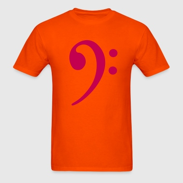 Bass Clef - Men's T-Shirt
