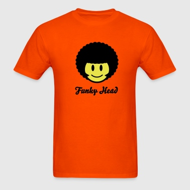 Afro Smiley Icon 2c - Men's T-Shirt