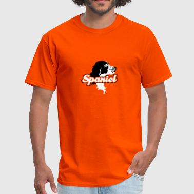 the_spaniel_head - Men's T-Shirt