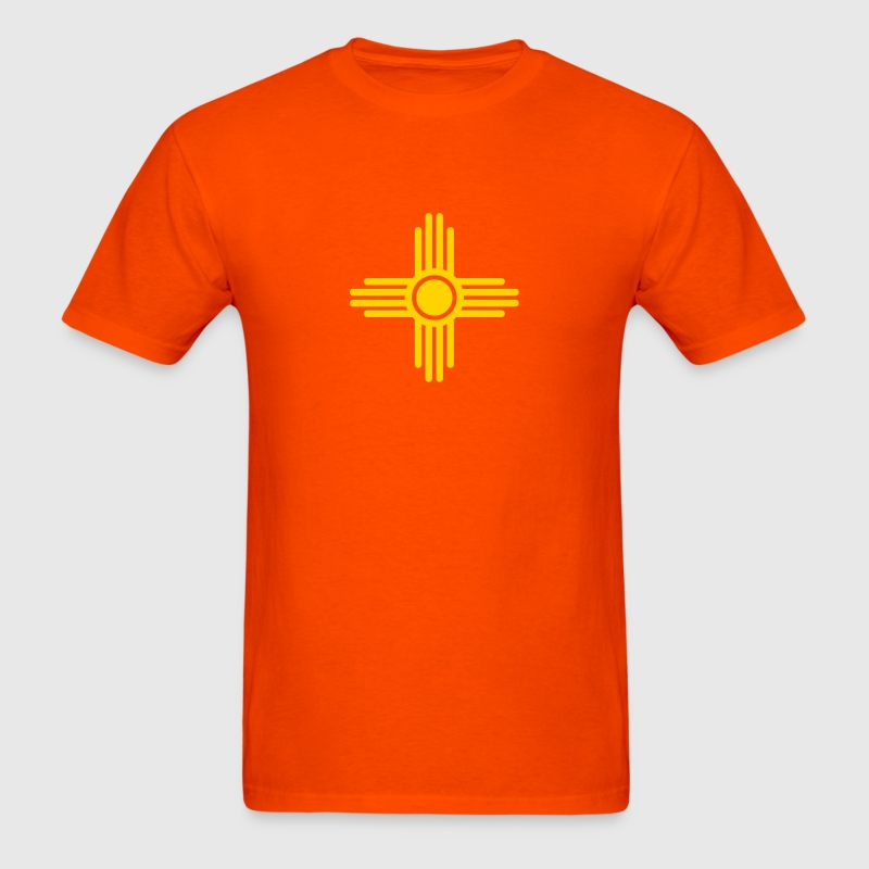 Zia Sun, Zia Pueblo, New  Mexico, Sun Symbol, SVG,  - Men's T-Shirt