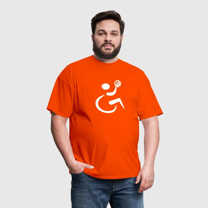 Wheelchair basketball - Men's T-Shirt