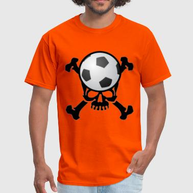 Soccer Skull - Men's T-Shirt