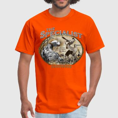 english setter specialist - Men's T-Shirt