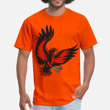 Black Hawk Hawk - Men's T-Shirt