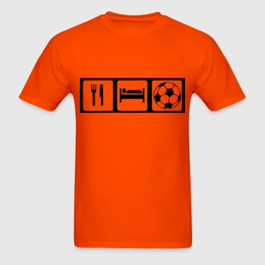 Eat, Sleep, Soccer - Men's T-Shirt