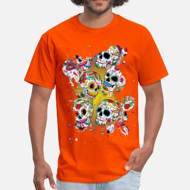 Dead Sugar Skulls - Men's T-Shirt