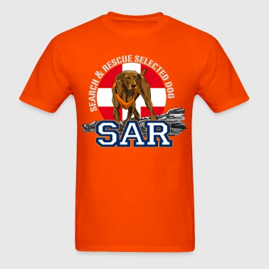 Search and Rescue Dog1 - Men's T-Shirt