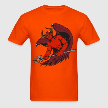 Winged Deity - Men's T-Shirt
