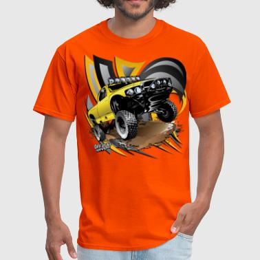 Baja Trophy Truck Yellow - Men's T-Shirt