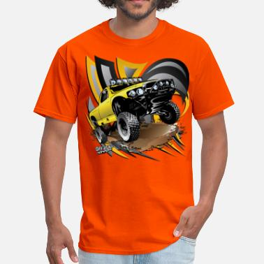 Trophy Offroad Baja Trophy Truck Yellow - Men's T-Shirt