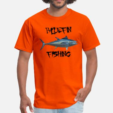 Bluefin Tuna Fishing bluefin fishing - Men's T-Shirt