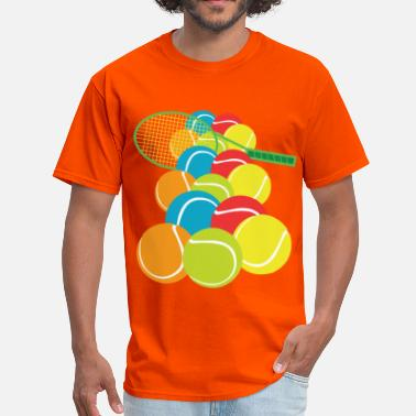 Frenzied TENNIS BALLS FRENZY - Men's T-Shirt