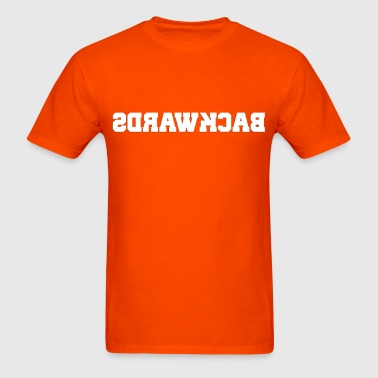 Backwards (1) - Men's T-Shirt