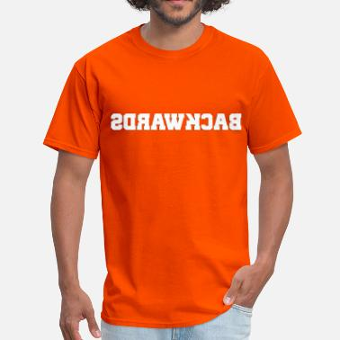 Backwards Backwards (1) - Men's T-Shirt