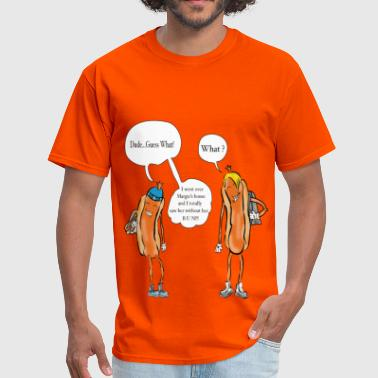 Hot Dog Teens - Men's T-Shirt