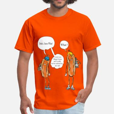 Comic Hot Dog Teens - Men's T-Shirt