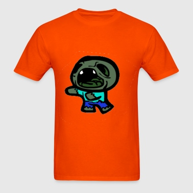 The Binding Of Minecraft Zombie Isaac - Men's T-Shirt
