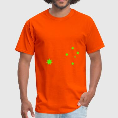 Aus Stars Green - Men's T-Shirt