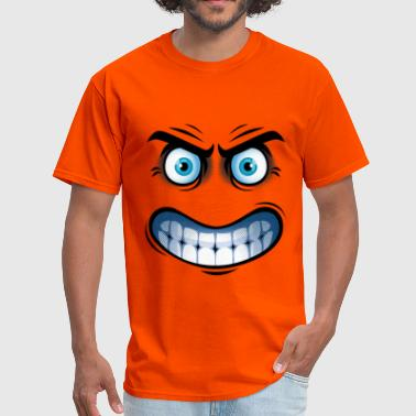 Angry face - Men's T-Shirt