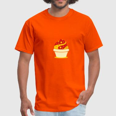 A soft ice cream in a cup - Men's T-Shirt
