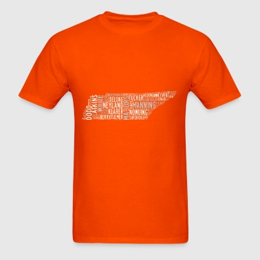 All Time Tennessee Football Greats Men's Basic T-S - Men's T-Shirt