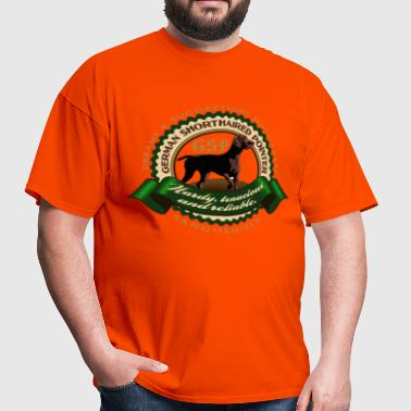 german_shorthaired_pointer_htr - Men's T-Shirt