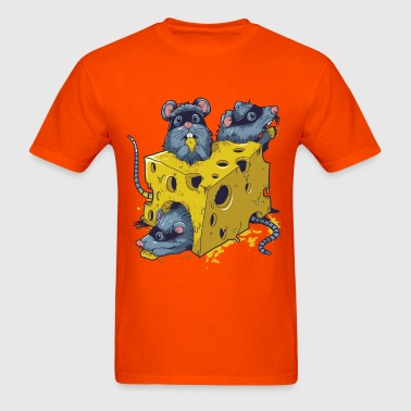 CHEESE AND RATS - Men's T-Shirt