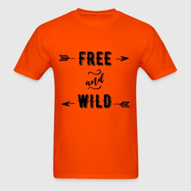 Free and Wild - Men's T-Shirt
