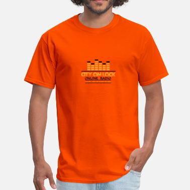 Radio City CITY ON LOCK ONLINE RADIO 2 - Men's T-Shirt