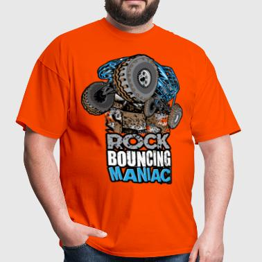 rock bouncing manic blue - Men's T-Shirt