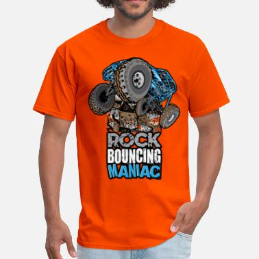 Manic rock bouncing manic blue - Men's T-Shirt