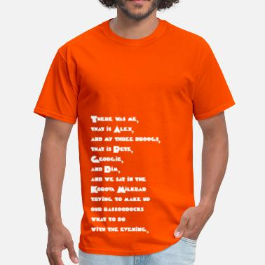 Clockwork Alex Quote (A Clockwork Orange) - Men's T-Shirt