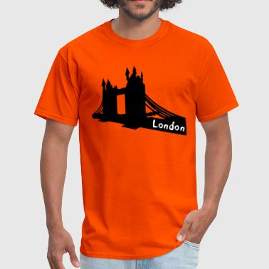 London txt  Tower Bridge  - Men's T-Shirt