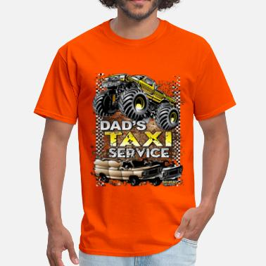 Monster Jam Monster Taxi Cab - Men's T-Shirt