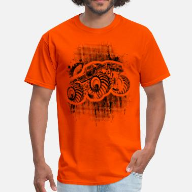 Monster Jam Monster Truck Grungy blk - Men's T-Shirt