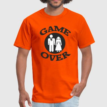 Game Over Yeah Game Over Design - Men's T-Shirt
