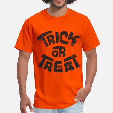 Treat trick or treat - Men's T-Shirt