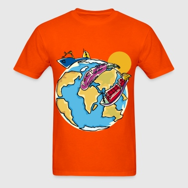World Travel - Men's T-Shirt
