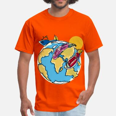 Traveller World Travel - Men's T-Shirt